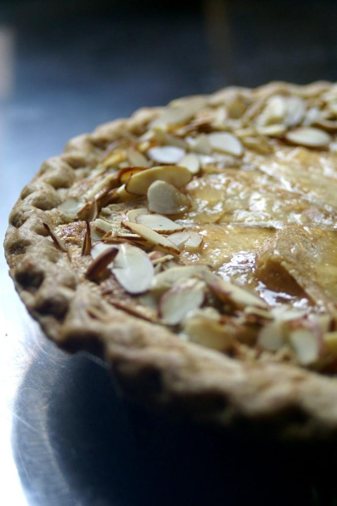 whiskey almond pear tart | semi sweets & sips | Pinterest | Pear Tart ...