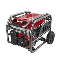 Black Max 5,500 / 6,875 Watt Portable Gas Generator (CARB Certified)