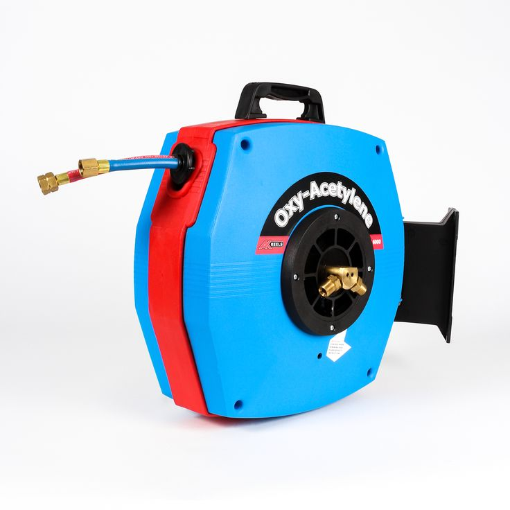 RC6000 Oxy/Acet twin hose reel