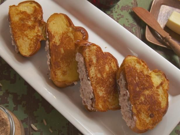 Get Cream Cheese-Stuffed French Toast Recipe from Food Network