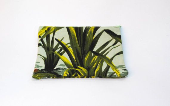 Grass Vintage Fabric Wallet
