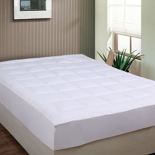 overfilled to provide extra comfort this microplush mattress pad is the perfect way to rest in luxury with endtoend box stitching to prevent shifting