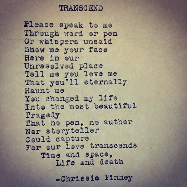 Love Death Quotes: Chrissie Pinney Transcend. And Prosper Series No. 43