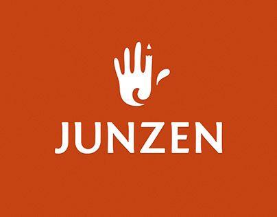 """Check out new work on my @Behance portfolio: """"Junzen logo project"""" http://be.net/gallery/50825635/Junzen-logo-project"""