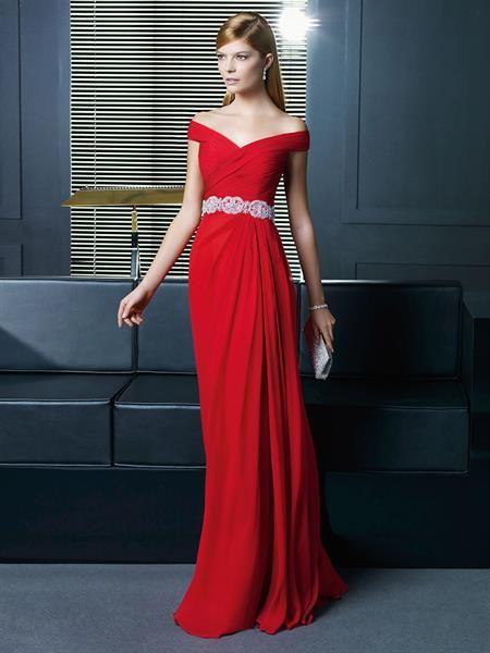 Платье из шелка с драпировкой
