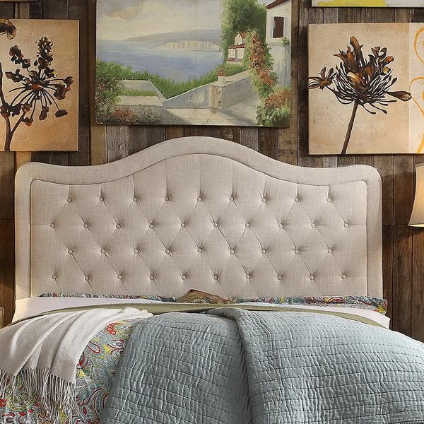 Found it at Joss & Main - Adella Tufted Upholstered Headboard