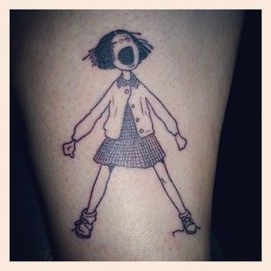 Ramona Quimby, Age 8   50 Incredible Tattoos Inspired By Books From Childhood  I would totally get Ramona! Iloved her as a kid.
