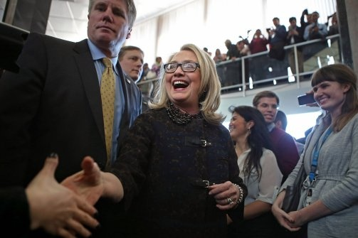 Hillary Clinton in 2016: Be Afraid, Republicans:   Hillary Clinton's polling ahead of GOP challengers in Texas and Kentucky. And then there's the youth vote, minorities, women, and the white working class. She's the one to beat in 2016, writes Lloyd Green, former opposition research counsel to the George H.W. Bush campaign.
