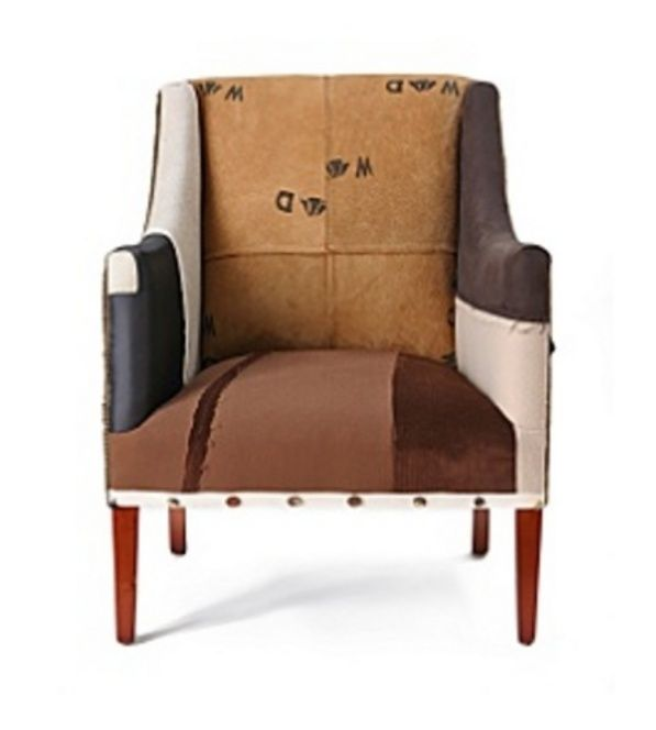 Patched upholstery