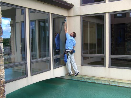 We offer window cleaners Melbourne service both for exterior and interior shining of you glass windows with incredible result.