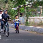 Masyarakat di sekitar embung ini merasa senang, karena perubahan lingkungan membuat warga memiliki tempat untuk beraktifitas, mulai dari jogging, sepedaan, jalan-jalan, dan menjadi tempat liburan murah meriah bagi keluarga.