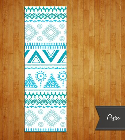 Tribal Aztec Yoga Mat.... Very pretty but can be anything, just need a yoga mat for the condo.   Wendy