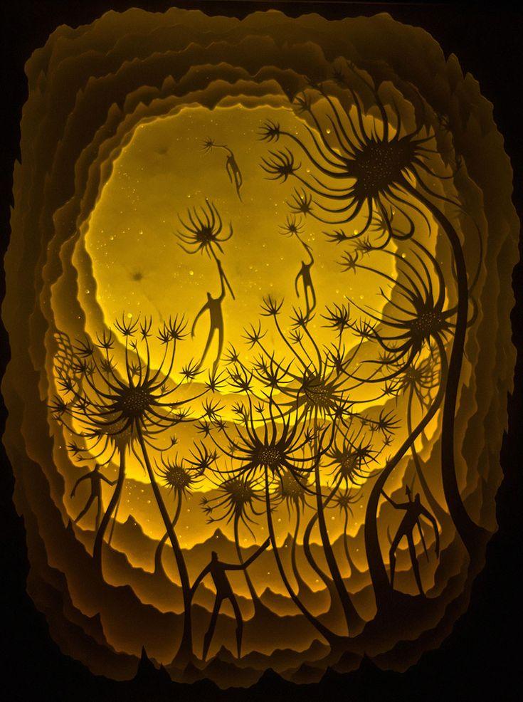 Deepti Nair and Harikrishnan Panicker, two Colorado-based artists who create stunning works of...
