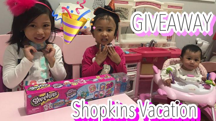 100 Subscriber Giveaway! |Shopkins Season 8 Vacation Mega Pack