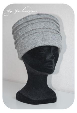 Tuto du Chapeau gris en feutre