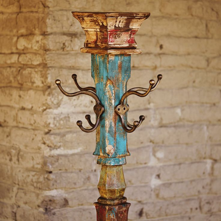 Hand-Carved Coat Rack / Craft by World Market