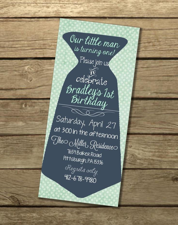 29 best Little Man Party Invites images on Pinterest | Man party ...