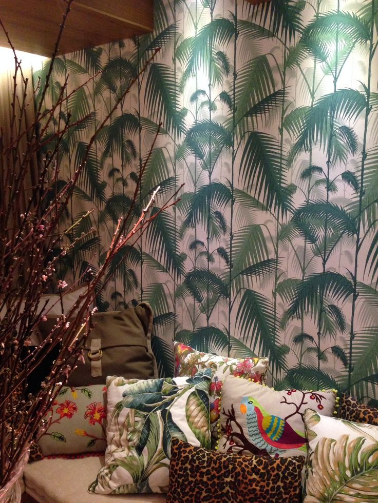 Wallpaper, cole&son, Ambiente arquitetos Jessica De Carli e Felipe Azevedo, Casa Cor POA 2014