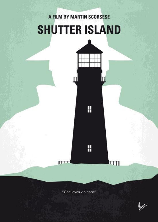 Shutter Island (2010) ~ Minimal Movie Poster by Chungkong #amusementphile