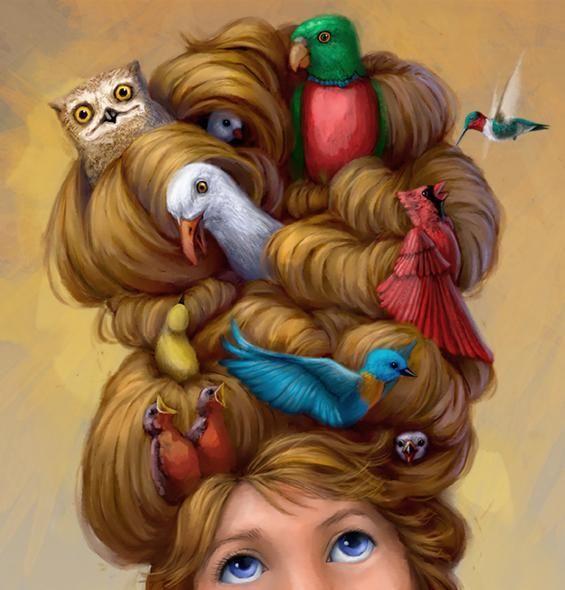 Connie Christensen - Janie and the Birds
