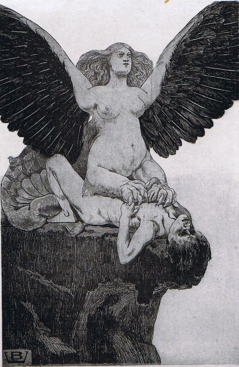 Valère Bernard    Le Sphinx    c. 1896