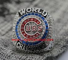2016 Chicago Cubs World Seires Championship Ring (Anthony Rizzo) Billy Goat inside ,Team Score and WE NEVER QUIT //Price: $US $39.99 & FREE Shipping //     #hashtag1