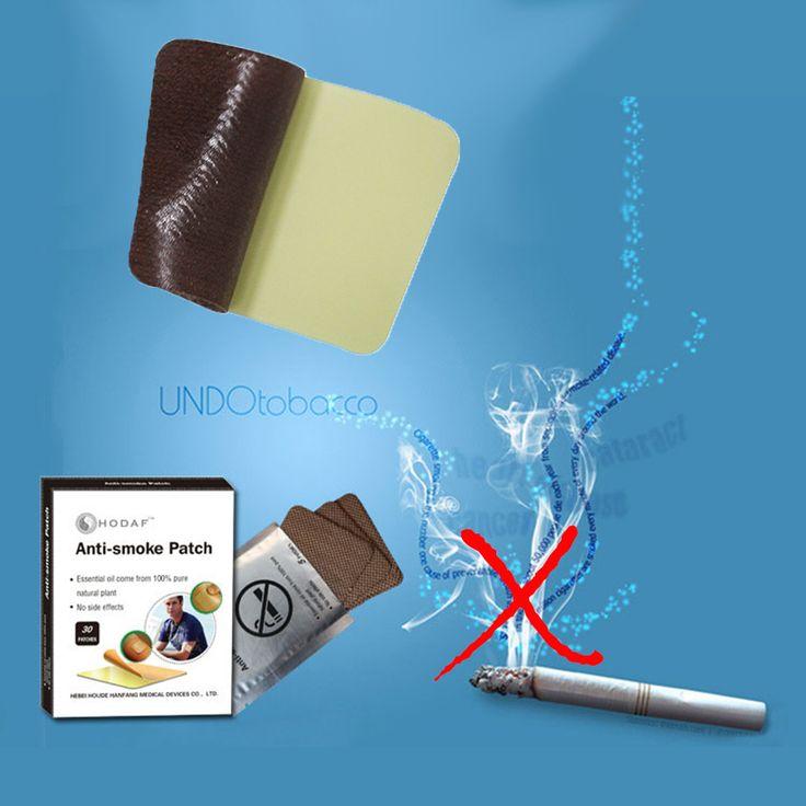 60Pcs Smoking Patch Anti Smoke Stop Smoking Cessation Patch to Give Up Smoking 100% Natural 2Boxes/60Patches D0285