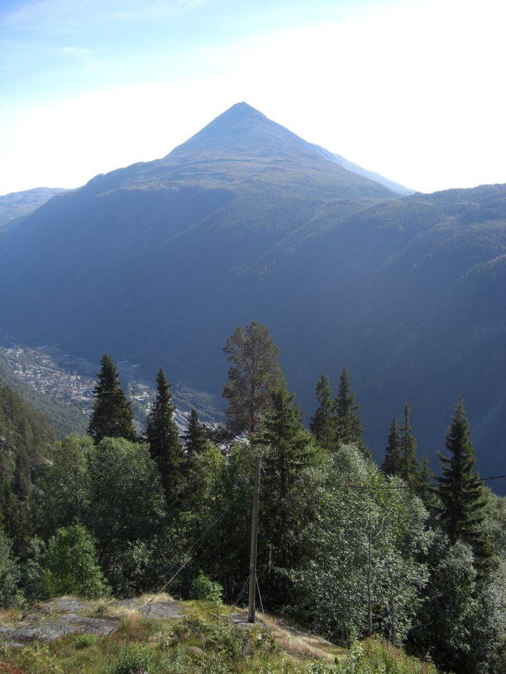 Gaustatoppen, der höchste Berg in Südnorwegen.