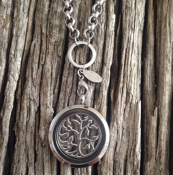 Stunning pic of our Silver Locket with Silver Tree of Life Window Plate on a Rolo Chain heart emoticon Pic by @sbondfield_lilyannedesigns ❤ Don't forget to tag us @LilyAnneDesigns or #LilyAnneDesigns to get your pic featured!
