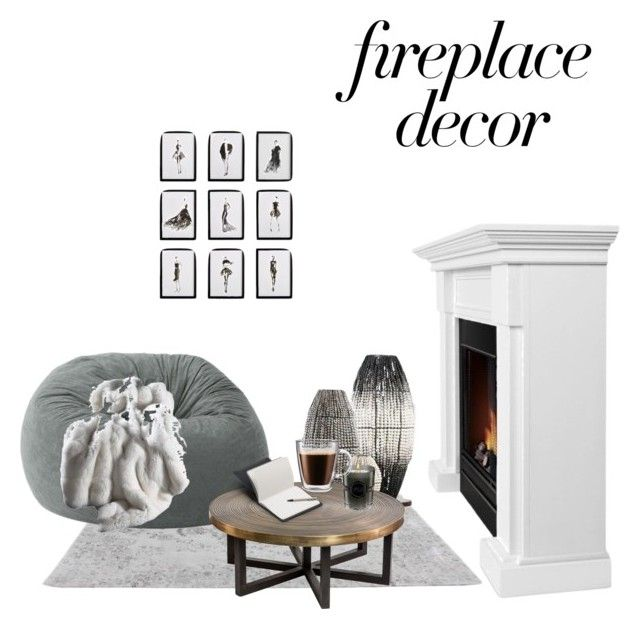 """""""Untitled #24"""" by jasmimosa on Polyvore featuring interior, interiors, interior design, home, home decor, interior decorating, Viktor & Rolf, Real Flame, Frontgate and Bellroy"""