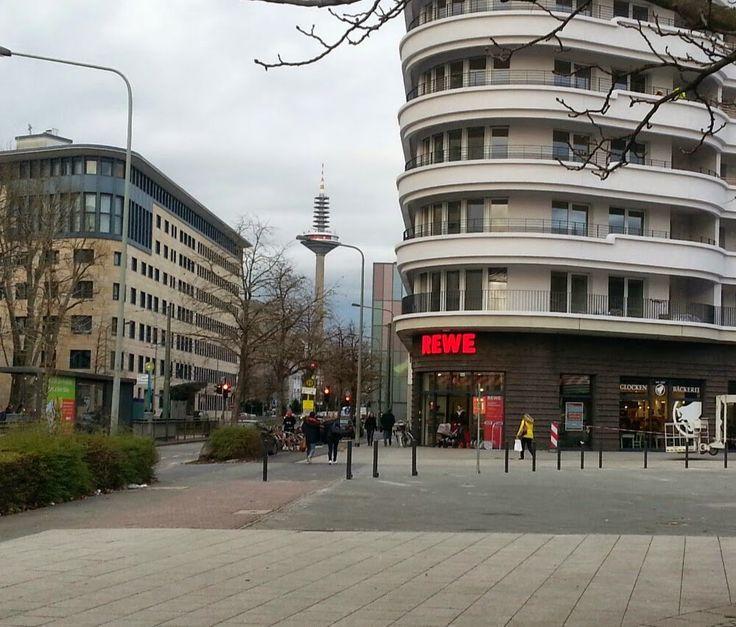 Rewe ~ Frankfurt, Hessen, Germany: Rewe's newest Frankfurt store, close to Bockenheimer Warte and the weekly farmers market.