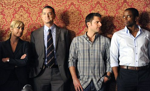 Juliet, Lassiter, Shawn and Gus. PSYCH!