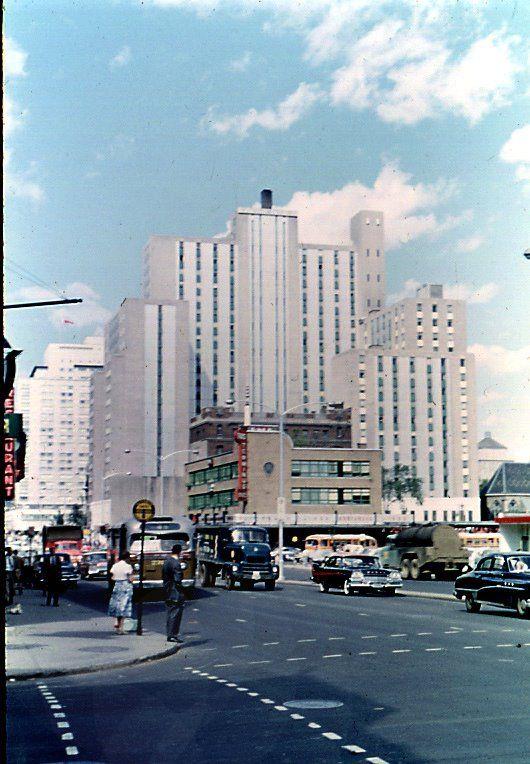 Laurentian Hotel in Montreal before it was razed...1960's