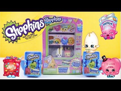 SHOPKINS Vending Machine Exclusive Shopkins | Shopkins Baskets | Ultra R..