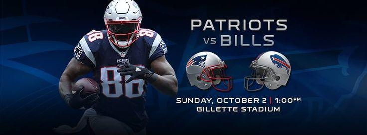 NEXT UP!! Pats/Bills 10/2 1pm Gillette Stadium https://www.fanprint.com/licenses/new-england-patriots?ref=5750