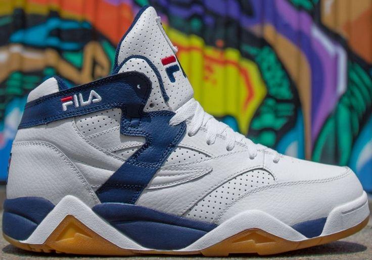 Fila M Squad Basketball Mid Top Shoes