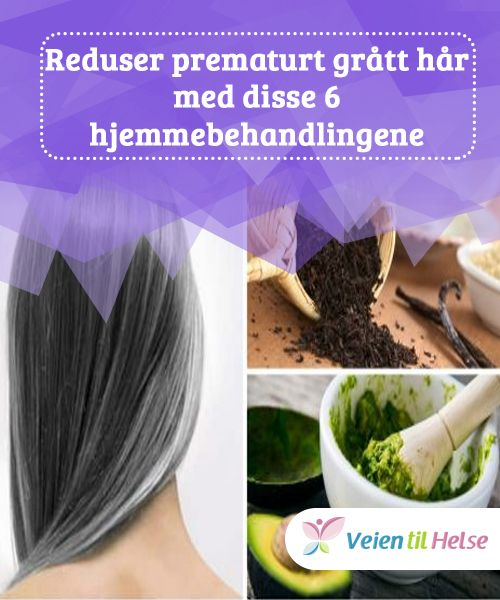 Reduser prematurt grått hår med disse 6 hjemmebehandlingene  Takket være #antioksidanter og naturlige pigmenter i noen #drikker som kaffe, kan vi bekjempe grå hår naturlig #uten å utsette håret for giftige kjemikalier. Lær mer i #denne artikkelen!