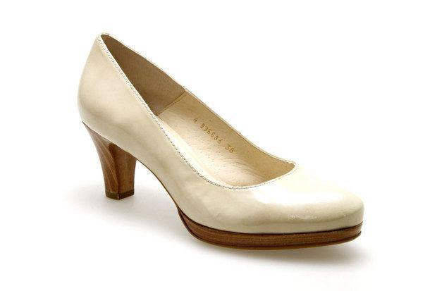 Escarpins GADEA 38000 Vernis / Beige - Chaussures femme