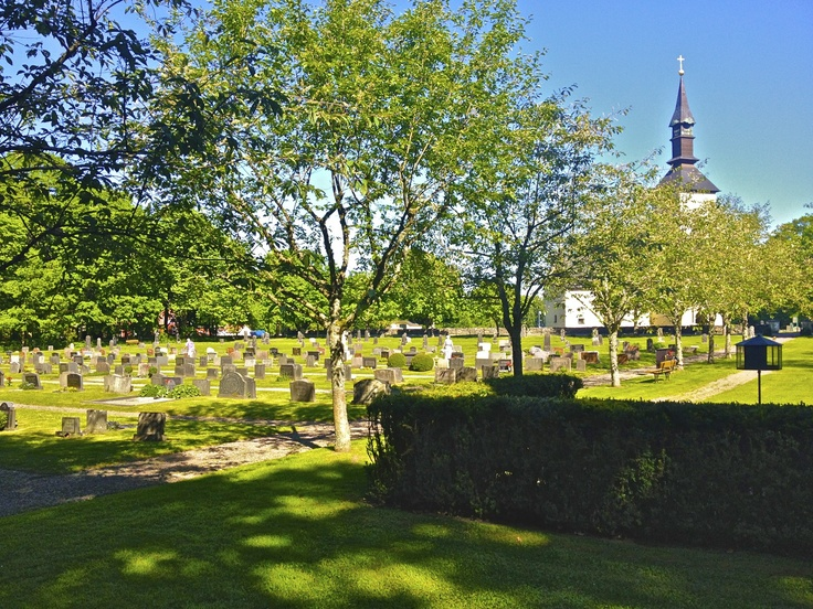 Graveyard on Visingo Island