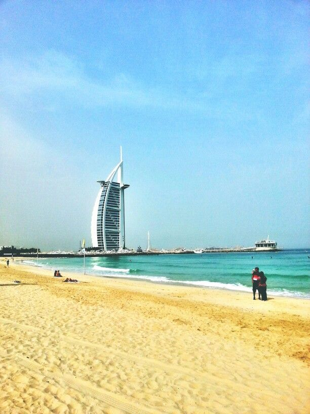 Burj Al Arab is the world most luxurious hotel, Dubai, UAE, 130424