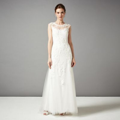 Phase Eight Ivory Josefina Wedding Dress- | Debenhams
