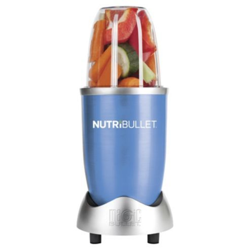 This year's small kitchen appliance must-have is this Nutribullet Blue 12 Piece Set - Exclusive to Tesco
