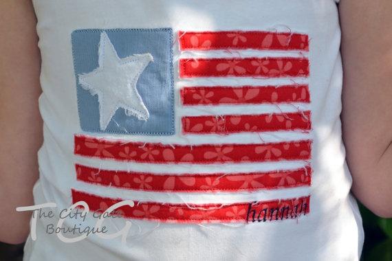 applique flag