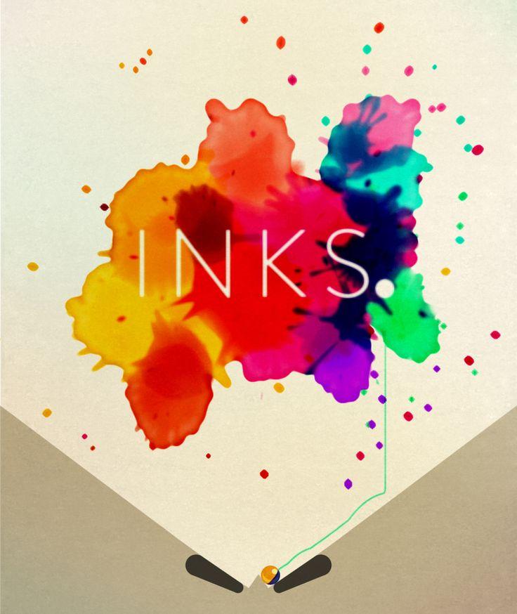 INKS: A Modernist #Art #App Disguised as a Pinball Puzzler Gregory Han Design Milk #modernart