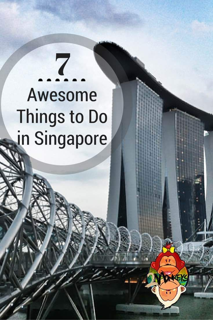 Singapore is celebrating its 50th year of independence and was named as the Top destination in 2015 by Lonely Planet. This little red dot has plenty of awesome things to offer from your usual sight seeing activities to an ultimate adventure.