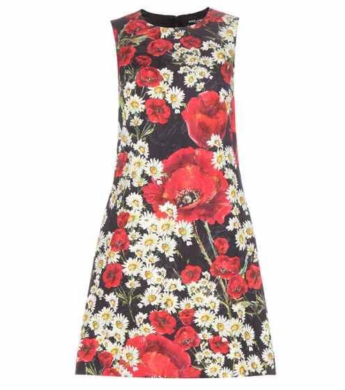 Jacquard shift dress | Dolce & Gabbana