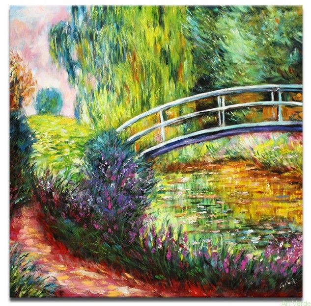 Claude Monet - Japoński mostek