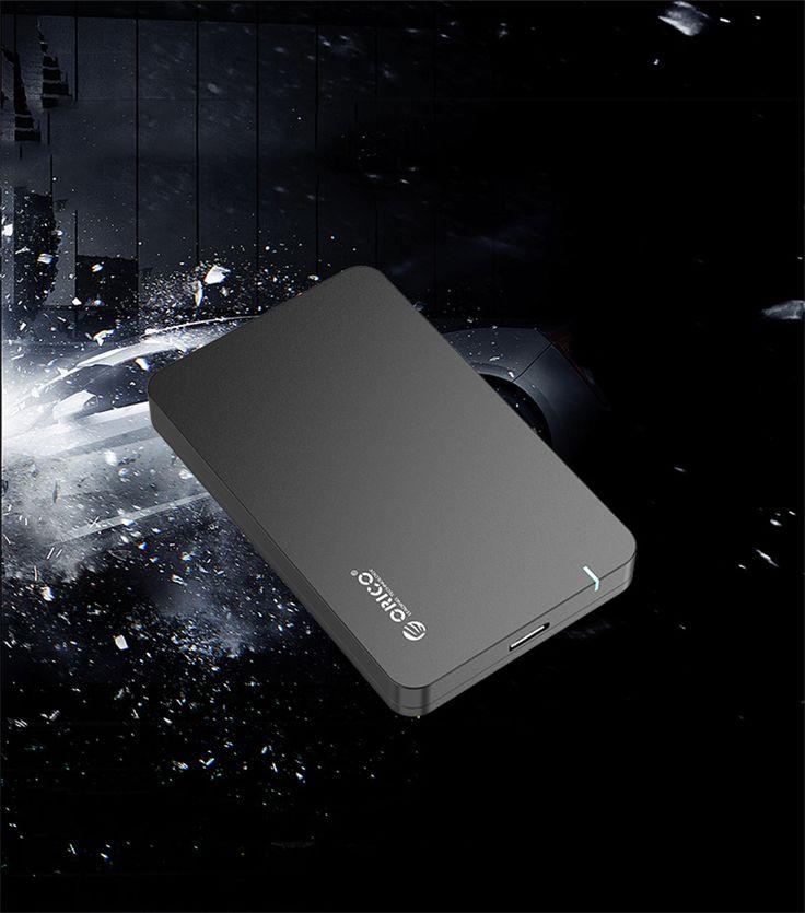 ORICO 2569S3-V1 USB 3.0 Hard Disk Drive Enclosure Case Black - Tmart