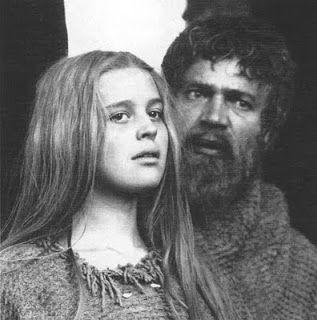 Magda Vašáryová a Vladimír Menšík - 1967 Marketa Lazarová