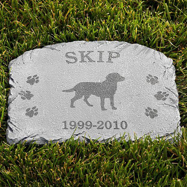 Memorial Stone Dog Pet Memorial Stones Dog Memorial Stone Personalized Dog Memorial